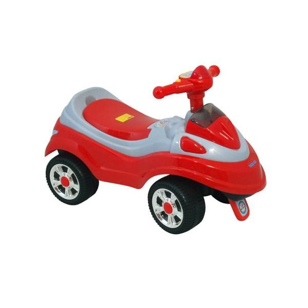 Dětské jezdítko scooter se zvukem Baby Mix červené