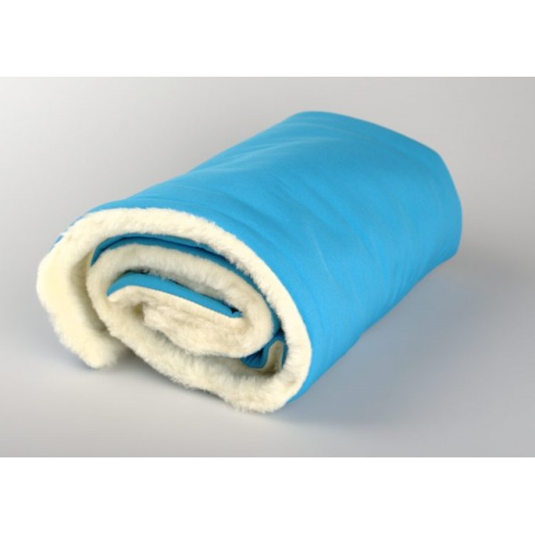Zimní deka tyrkysová merino softshell Kaarsgaren