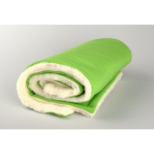 Zimní deka zelená merino softshell Kaarsgaren