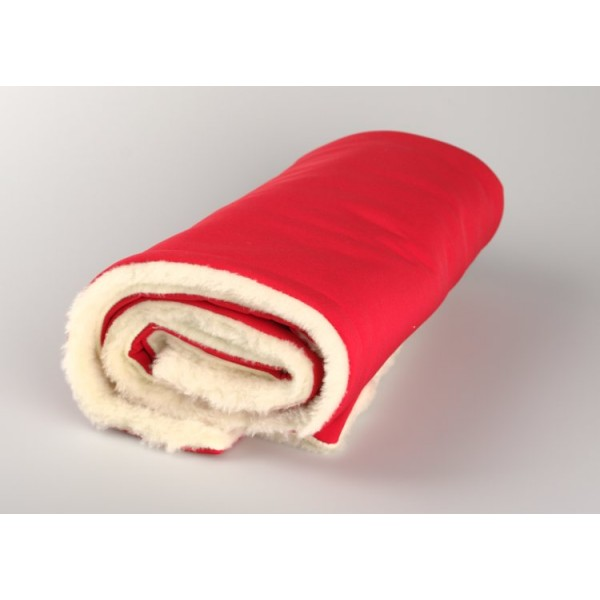 Zimní deka červená merino softshell Kaarsgaren