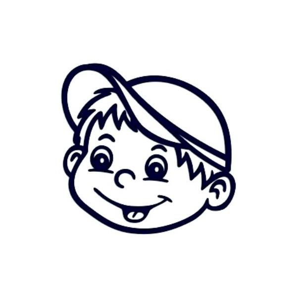 Samolepka na auto se jménem dítěte- kluk 05