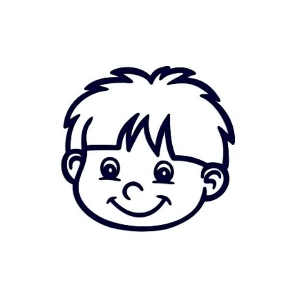 Samolepka na auto se jménem dítěte- kluk 07