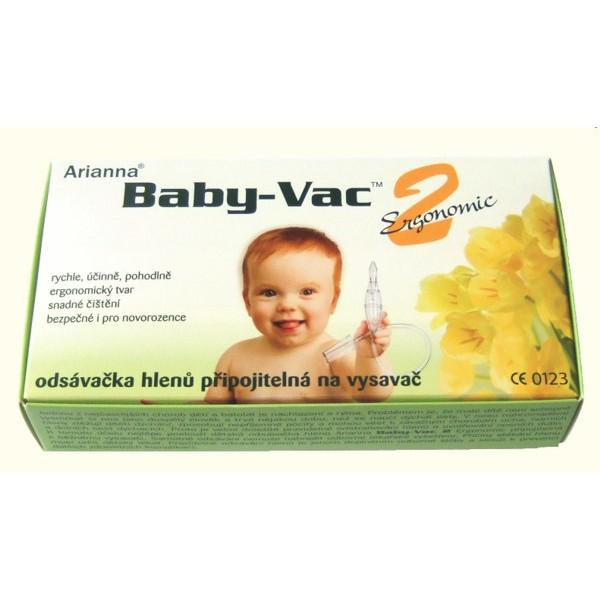 Arianna Baby-Vac 2 Ergonomic- odsávačka nosních hlenů