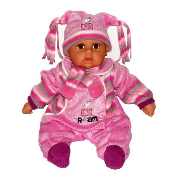 Mluvící a zpívající dětská panenka Baby Girl dreams