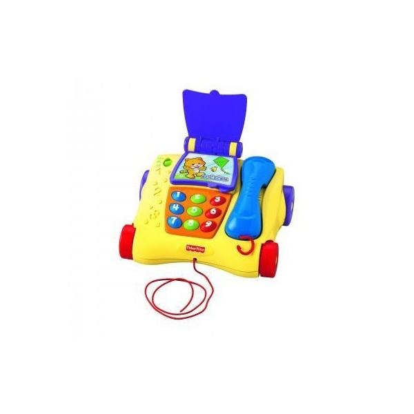 Fisher Price Mluvící tahací telefon T1632