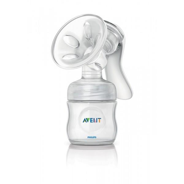 Avent odsávačka mateřského mléka Natural se zásobníkem 125 ml PP