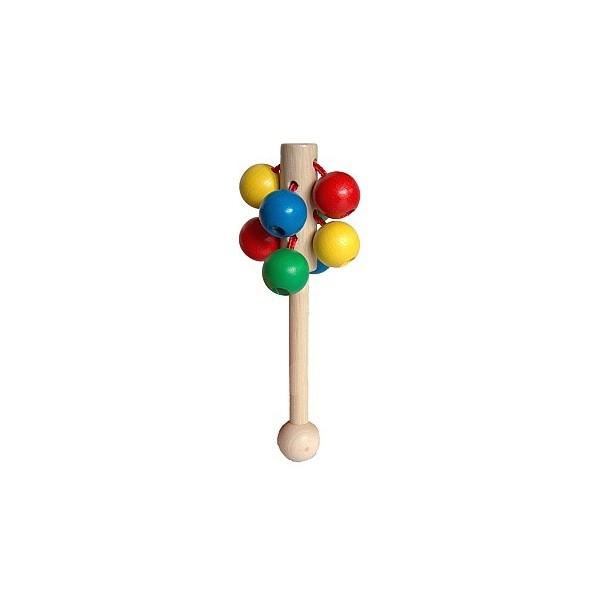 Chrastítka - Kuličky na tyčce