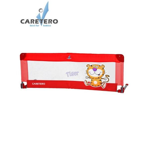 Mantinel - zábrana do postýlky CARETERO Tiger- červená