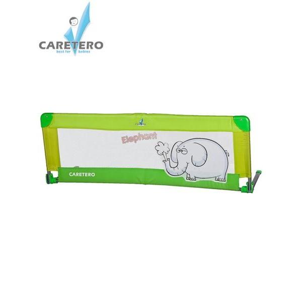 Mantinel - zábrana do postýlky CARETERO Elephant- zelená