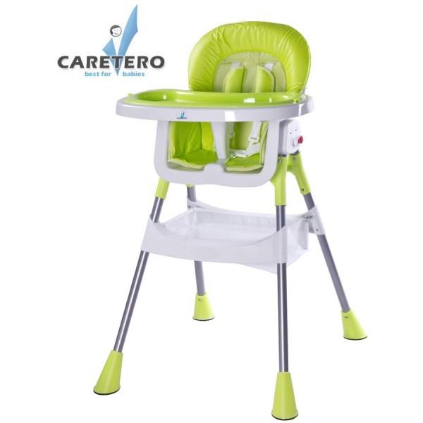 Jídelní židlička CARETERO Pop green