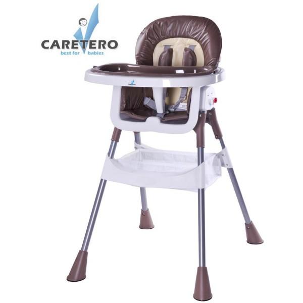 Jídelní židlička CARETERO Pop brown