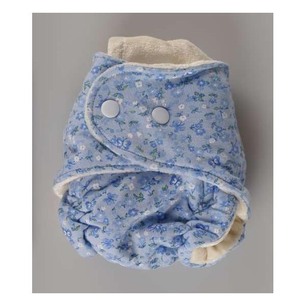 Novorozenecká bambusová plenka modrá- Kaarsgaren