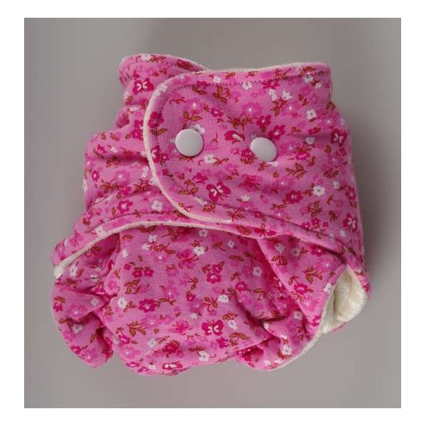 Novorozenecká plenka růžová- Kaarsgaren