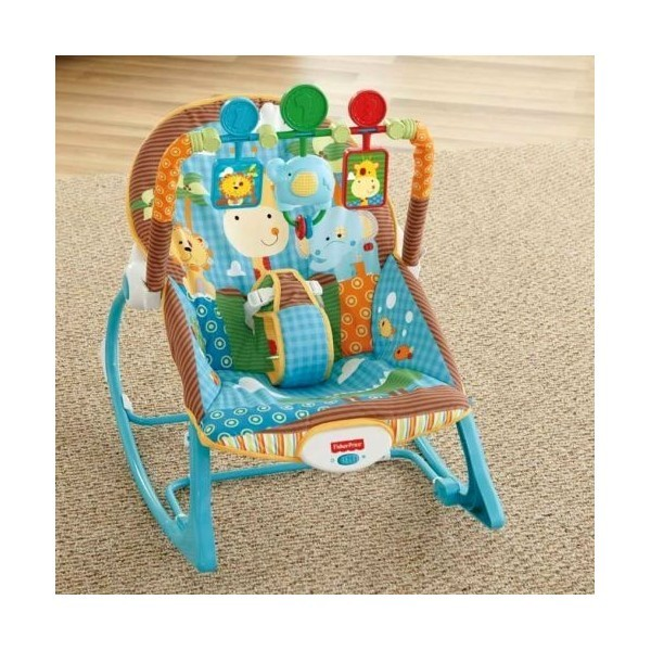 Fisher Price Y7872 - Sedátko od Miminka po Batole do 18kg