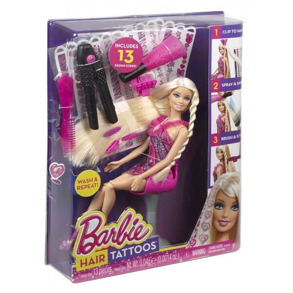 Barbie Kadeřnické studio