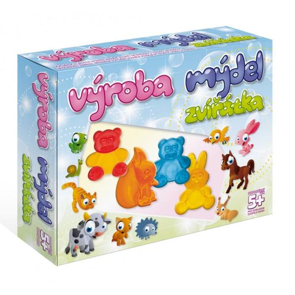 Výroba mýdel - Zvířata DetiArt