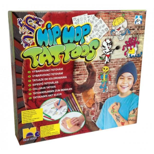 HipHop tetování pro kluky MAC TOYS