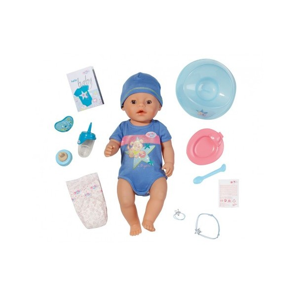 Interaktivní BABY born, 43 cm, chlapec- Zapf Creation