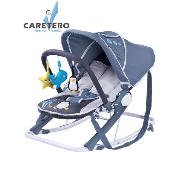 Dětské lehátko CARETERO Aqua grey