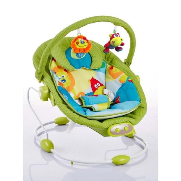 Lehátko pro miminka Baby Mix zelené do 9kg
