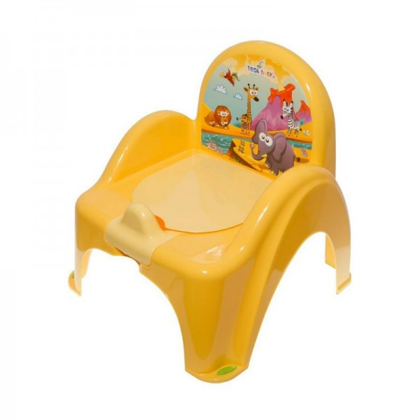 Dětský nočník s poklopem TEGA žlutý