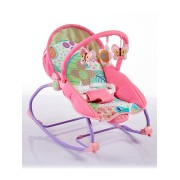 Dětské lehátko 2v1 Baby Mix pink do 14kg