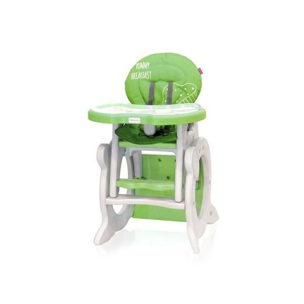 Jídelní stoleček Coto Baby STARS Q Green