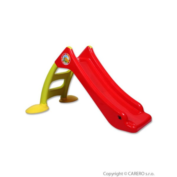 Dětská skluzavka - červená- DOHANY