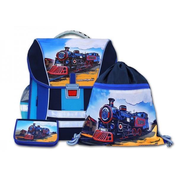 Školní batohový set pacific 3-dílný Emipo