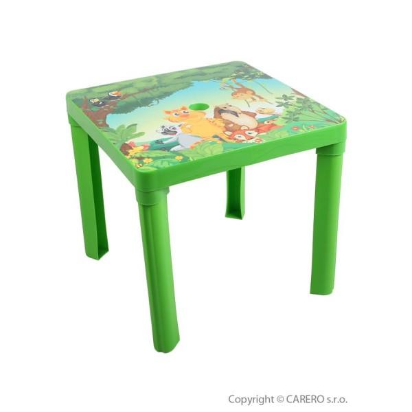 Dětský zahradní nábytek - Plastový stůl- STAR PLUS