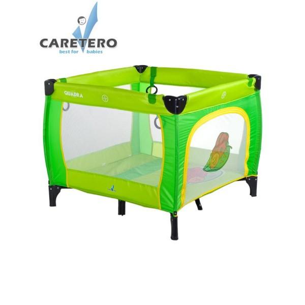 Dětská skládací ohrádka CARETERO Quadra green- CARETERO