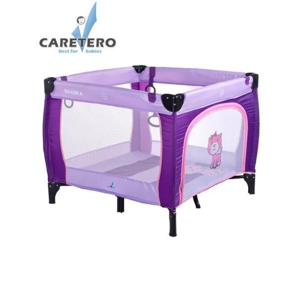 Dětská skládací ohrádka CARETERO Quadra purple- CARETERO