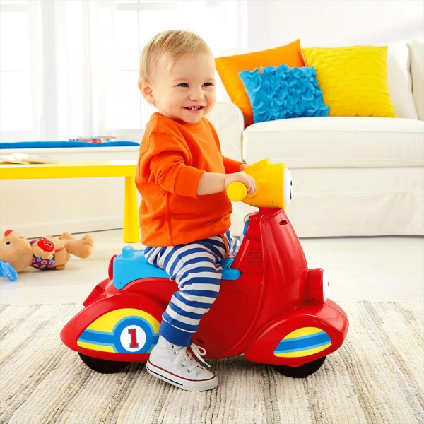 Fisher Price Smart Stages mluvící scooter CZ DHT37