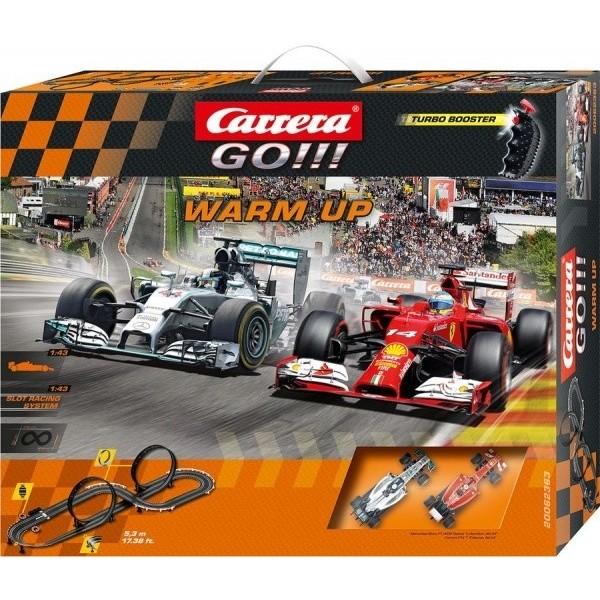 Autodráha Carrera GO 62363 Warm Up