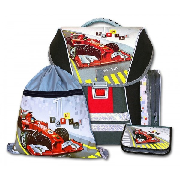 Školní batohový set Formule racing Emipo