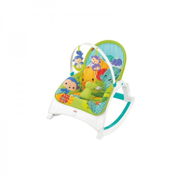 Fisher Price Sedátko Rainforest 3 v 1 CMR10