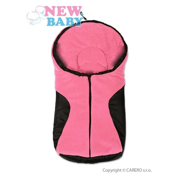 Zimní fusak New Baby Car Pink