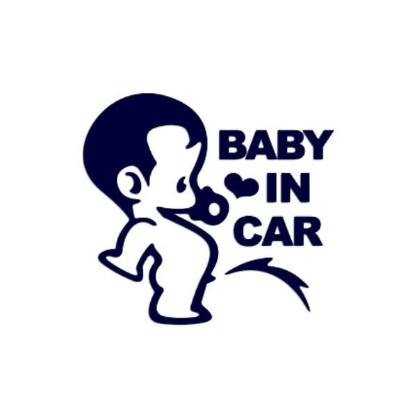 Samolepka na auto se jménem dítěte - Baby in car