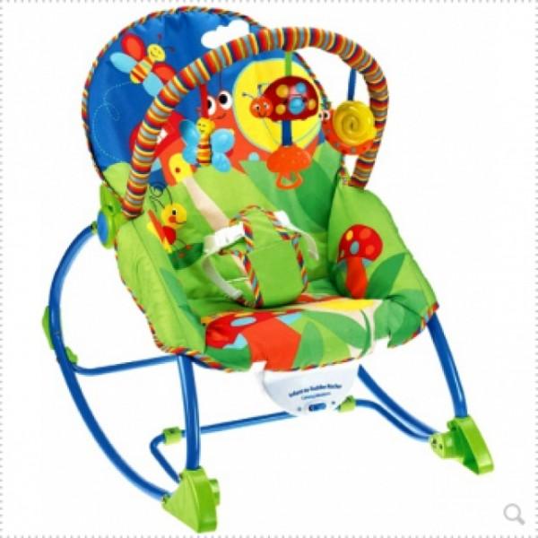 Dětské lehátko 2v1 kouzelná zahrada IMP do 18kg