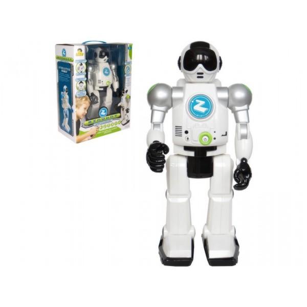 Robot Zigy černý rozpoznávající hlasy- na dálkové ovládání