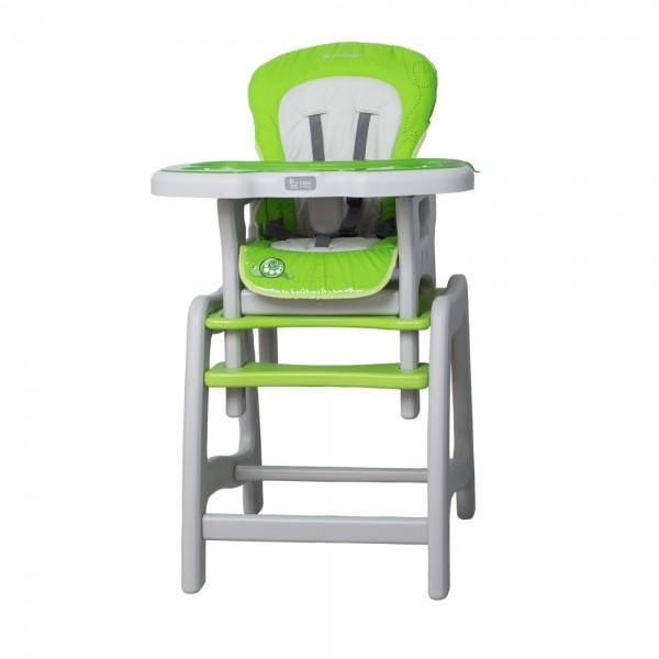 Jídelní stoleček Coto Baby STARS Šnek - zelený