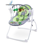 Dětská houpačka CARETERO FOREST green