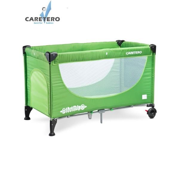 Cestovní postýlka CARETERO Simplo green