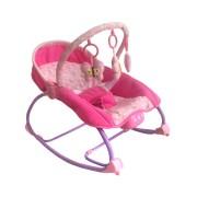 Lehátko pro miminko 2v1 do 18kg Baby Mix růžové