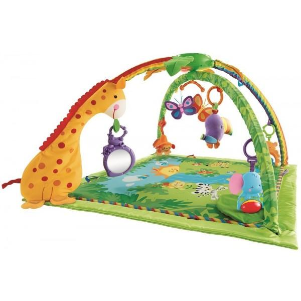Fisher-Price Rainforest hrací deka s hrazdičkou
