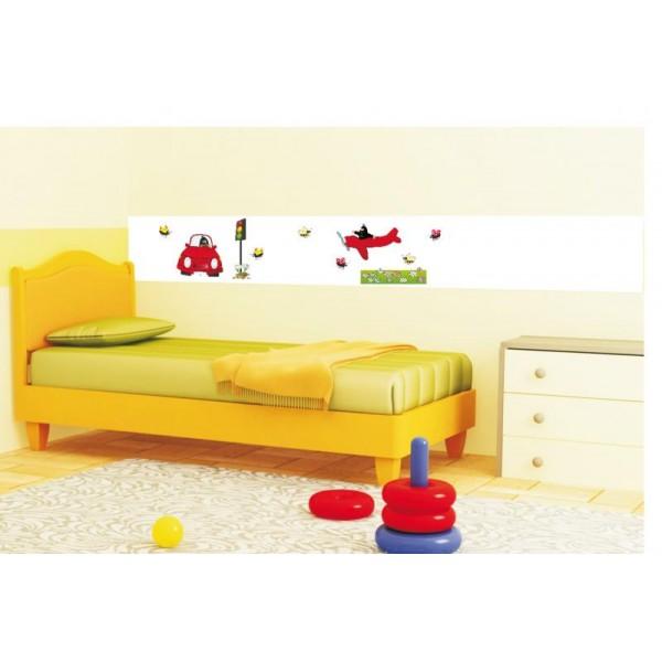 Samolepky na stěnu dětského pokoje- Krtkův svět