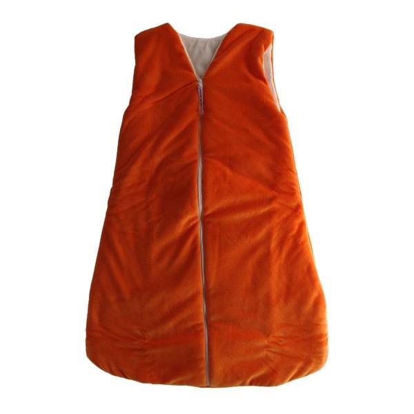 Dětský spací vak-pytel oranžový 120 cm Kaarsgaren