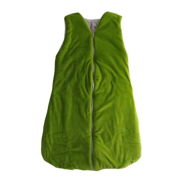 Dětský spací vak-pytel zelený 120 cm Kaarsgaren
