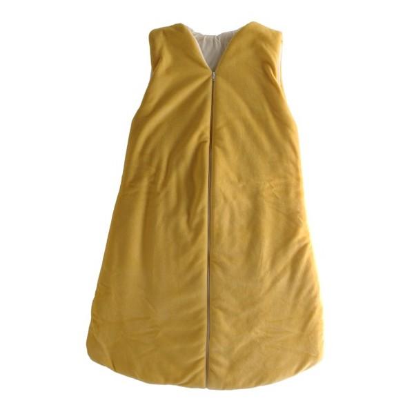 Dětský spací vak-pytel žlutý 120 cm Kaarsgaren