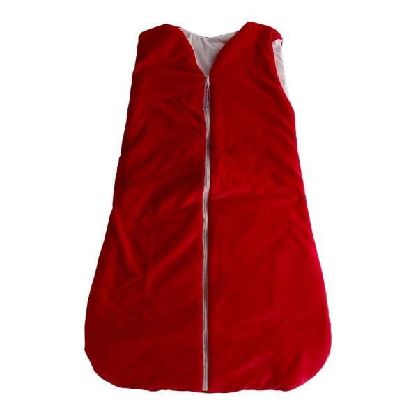 Dětský spací vak-pytel červený 120 cm Kaarsgaren